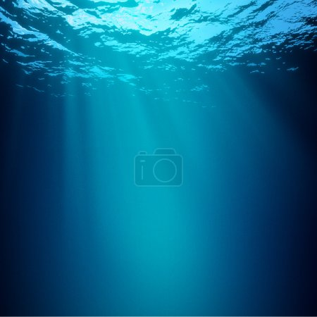 Abyss. Abstract underwater backgrounds
