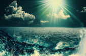 Beauty Ocean, abstract natural backgrounds for your design