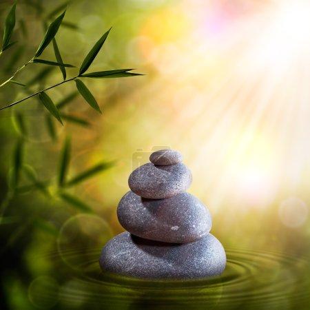 Photo pour Des décors zen abstraits pour votre design - image libre de droit