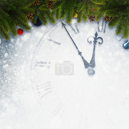 Photo for Countdown to New Year, abstract holidays backgrounds for your design - Royalty Free Image