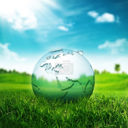 Photo for Clear Earth Concept. Abstract environmental backgrounds for your design - Royalty Free Image