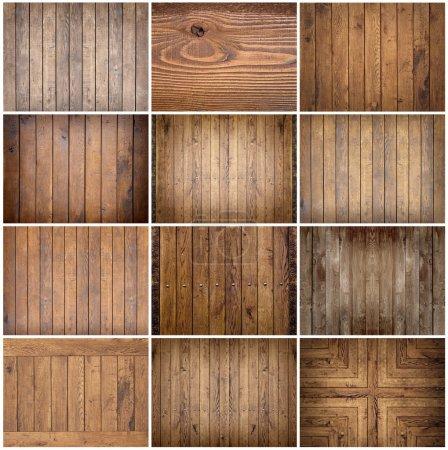Photo pour Texture du bois. vieux panneaux fond - image libre de droit