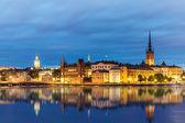 Evening summer scenery of Stockholm, Sweden