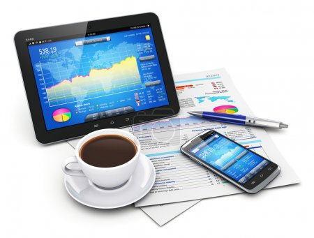Mobility, business and finance concept