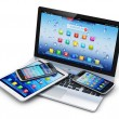 Mobile devices, wireless communication technology ...