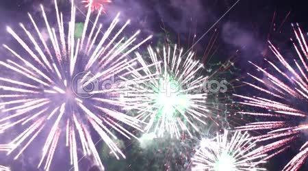 Great natural color fireworks