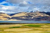 Tso Moriri lake in Indian Himalayas