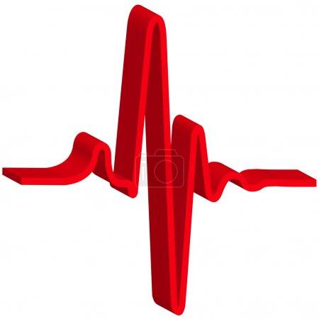 Heatbeat symbol for various design...