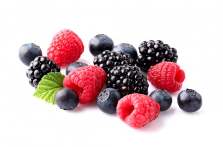 Photo for Juicy mix berry in closeup - Royalty Free Image