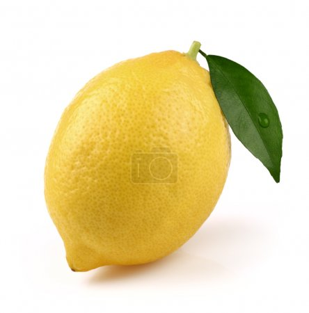 Photo for One ripe lemon in closeup - Royalty Free Image