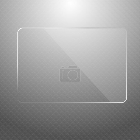 Vector abstract silver technology background