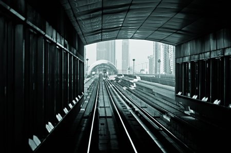 subway tracks in the united arab emirates