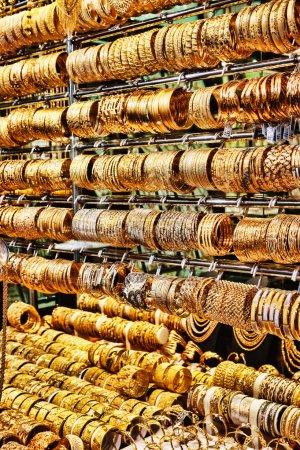 Gold market in Dubai Deira