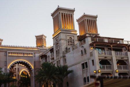 Night view of Madinat Jumeirah