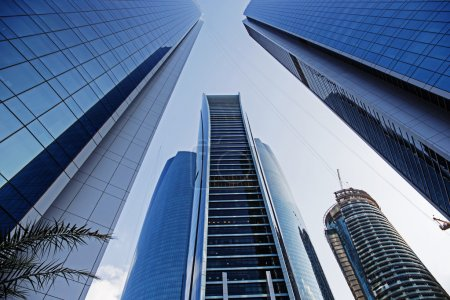 Skyscrapers buildings