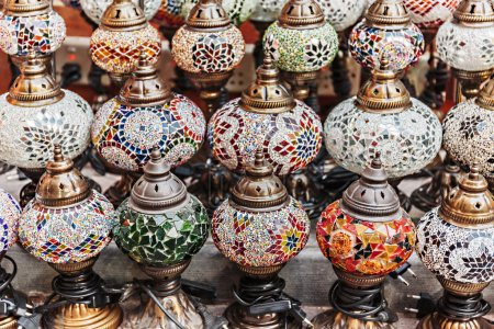 lampes traditionnelles arabes