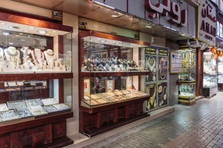 Gold market in Dubai