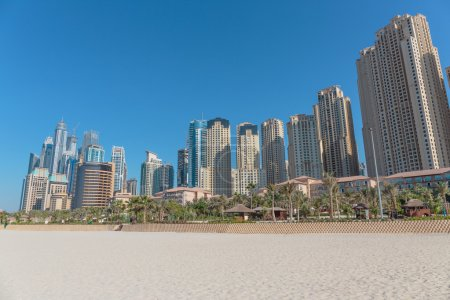 Modern buildings in Dubai