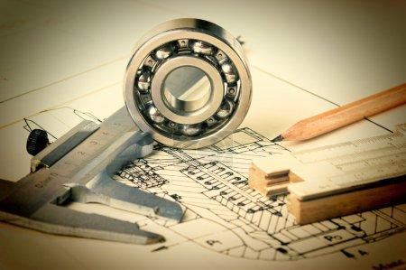 mechanical scheme and  bearing