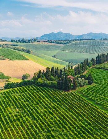 typique ferme toscane en Italie