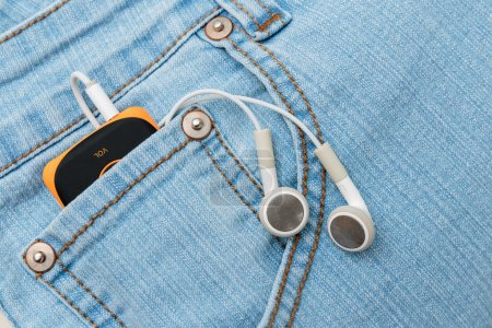 Headphones in the pocket