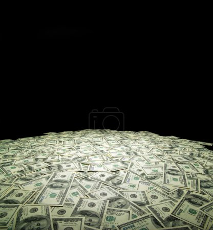 Photo for Money background from dollars usa. financial concept - Royalty Free Image