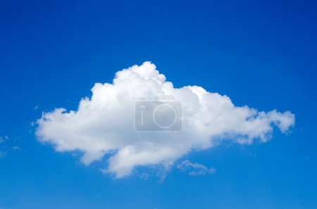 Photo for White clouds against blue sky - Royalty Free Image