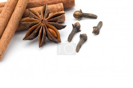 Cloves, anise and cinnamon
