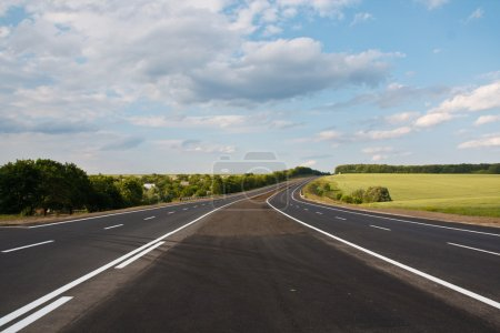 Photo for Markings on the highway - Royalty Free Image