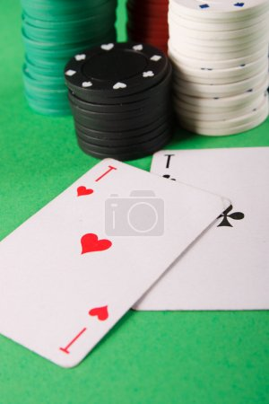 Poker. The game plot.