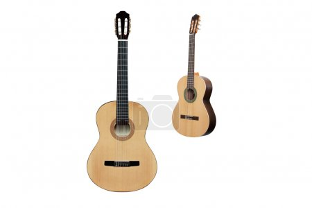 Photo for The image of a guitars under a white background - Royalty Free Image