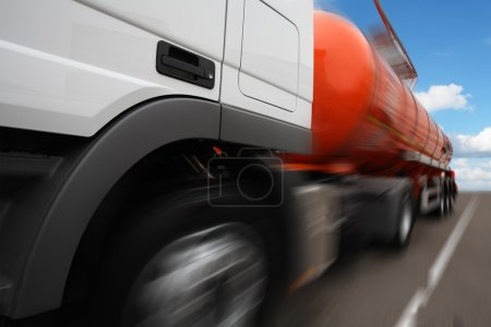 The image of a tank truck