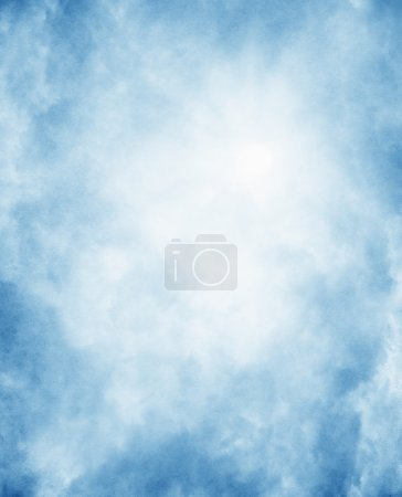 Fog on textured paper background