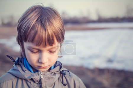 Photo for Sad Young Boy - Royalty Free Image