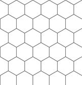 Hexagonal seamless pattern