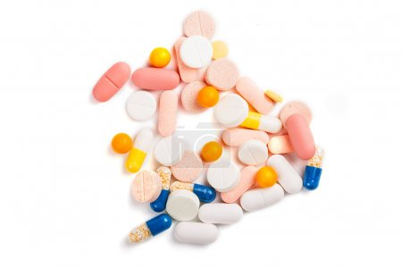 Photo for Assorted pills - Royalty Free Image