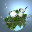 Energy Sources on the Green Earth...