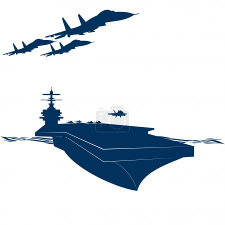 Carrier and carrier-based aircraft