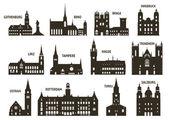 Siluety města