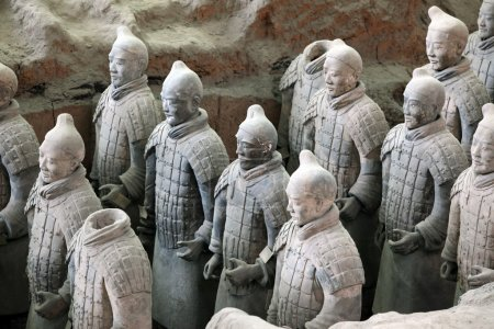 Terracotta warriors of XiAn, Qin Shi Huang