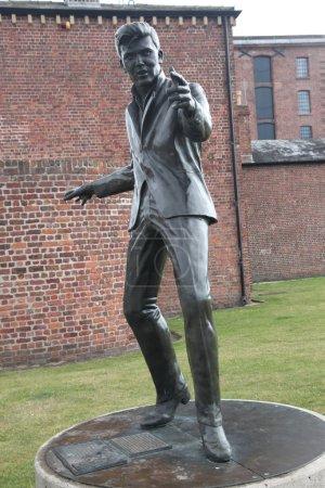 Statue of Elvis Aaron Presley