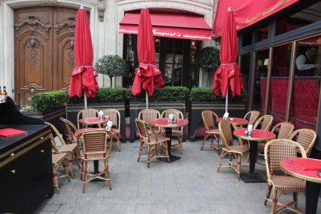Cafe on a street of Paris