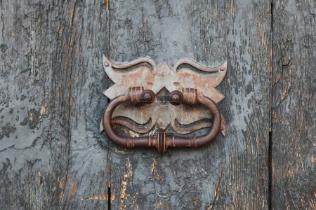 Girona, old door knocker
