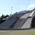 Holmenkollen ski jump hill Oslo, Norway on July 26...