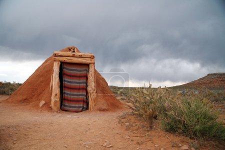 Navajo native indian house