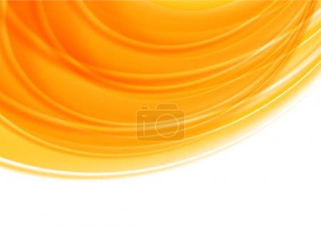 Bright orange background