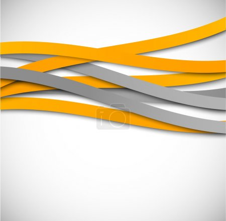 Illustration for Abstract background with lines - Royalty Free Image
