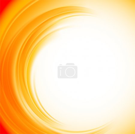 Illustration for Abstract orange background. Bright illustration - Royalty Free Image