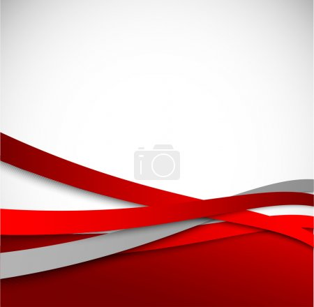 Illustration for Abstract red background - Royalty Free Image