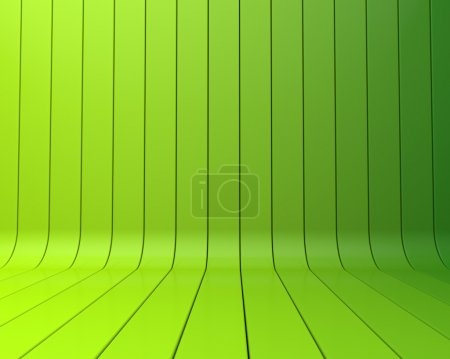 Photo for Green abstract stripe background - Royalty Free Image